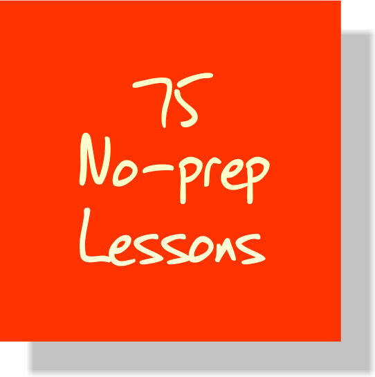 No Prep Lesson Plans