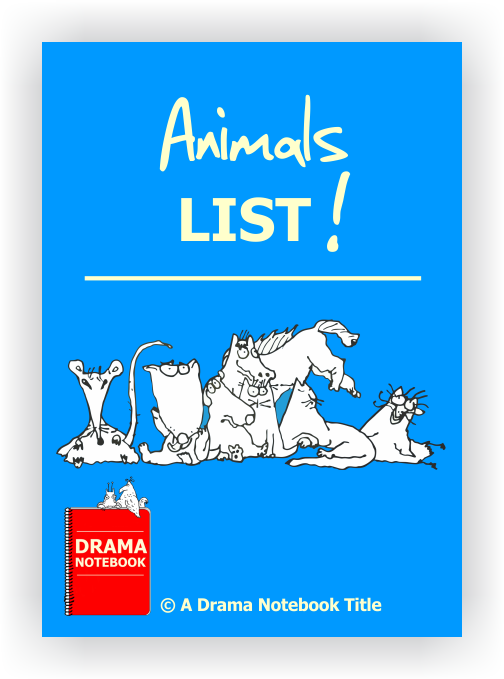 Drama Lesson Plan-Animals List