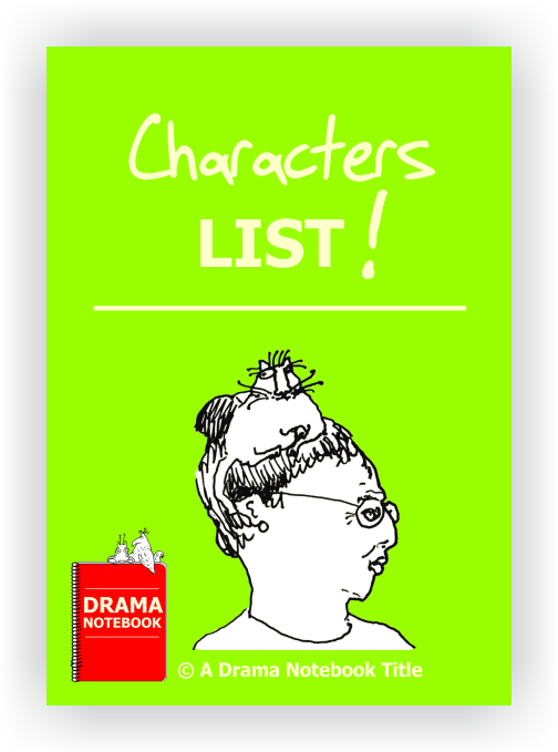 Drama Lesson Plan-Characters List