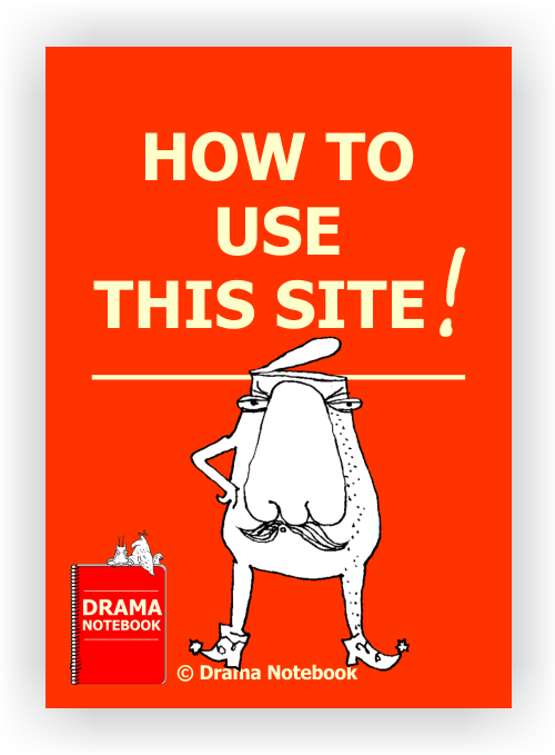 How to Use Drama Notebook Button