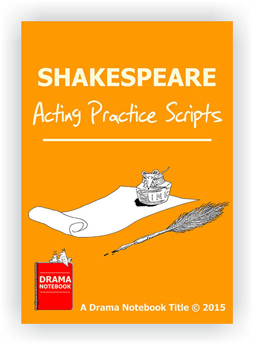 Shakespeare Acting Practice Play Script for Schools