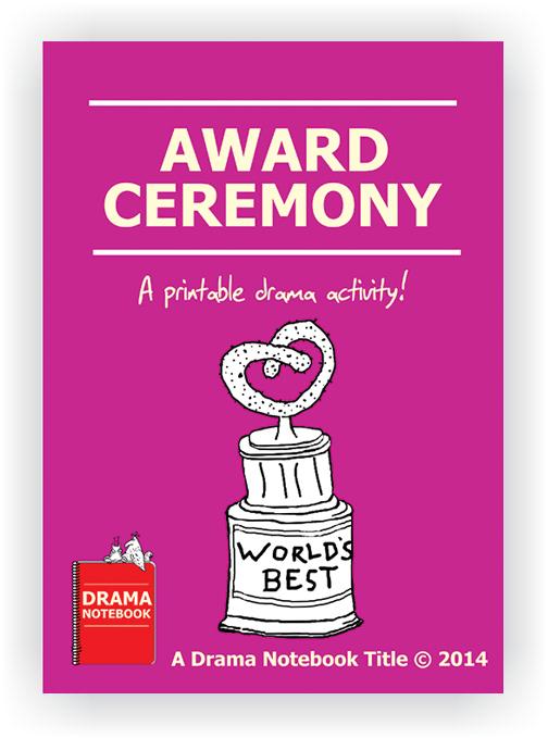 Drama Lesson Plan for Schools-Award Ceremony Drama Activity