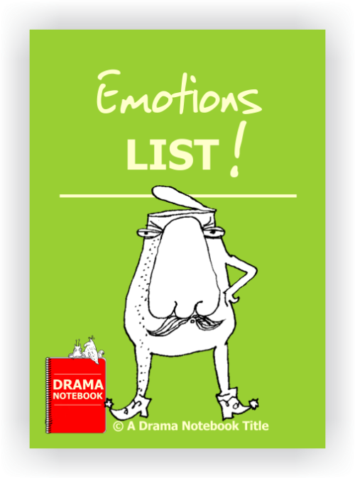 Drama Lesson Plan for Schools-List of Emotions