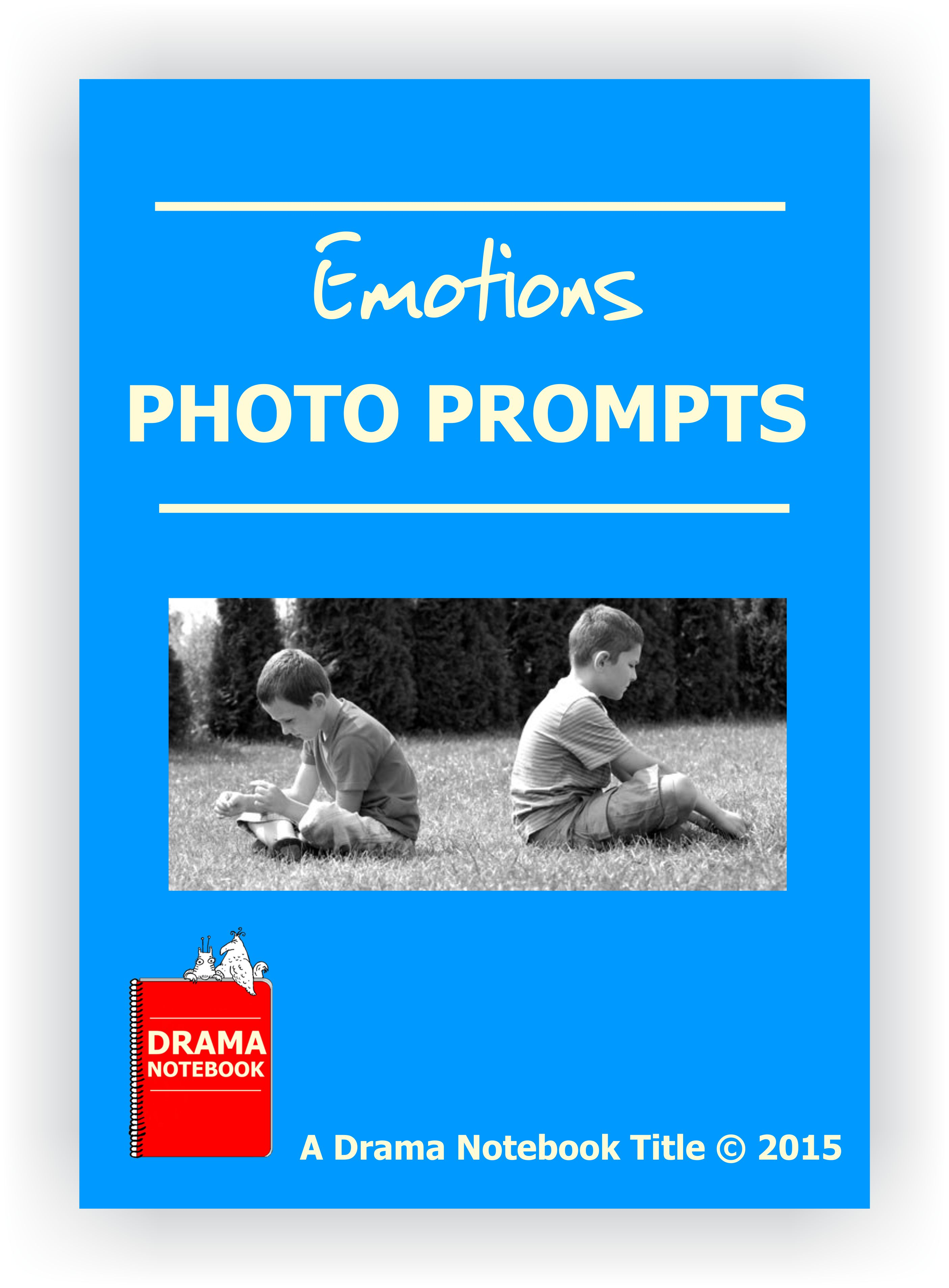 Drama Lesson Plan for Schools-Emotions Photo Prompts
