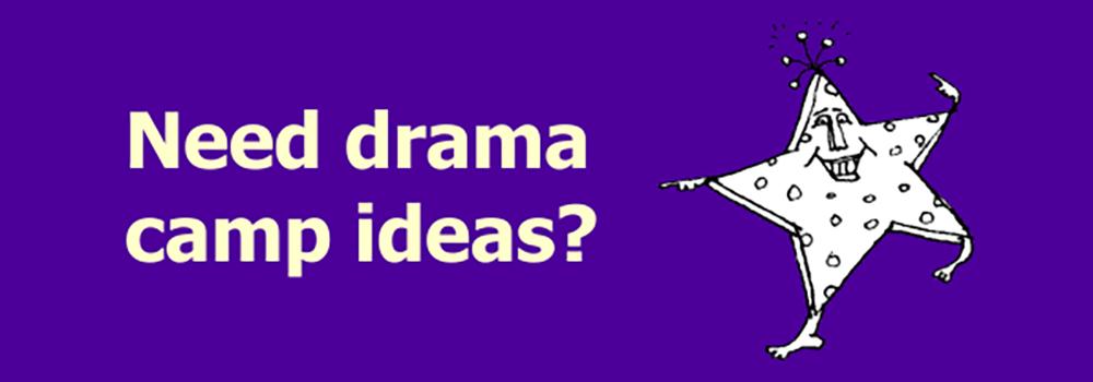 Drama Camp Ideas Button