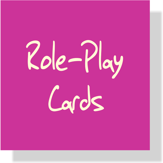 Curriculum Role Play Cards
