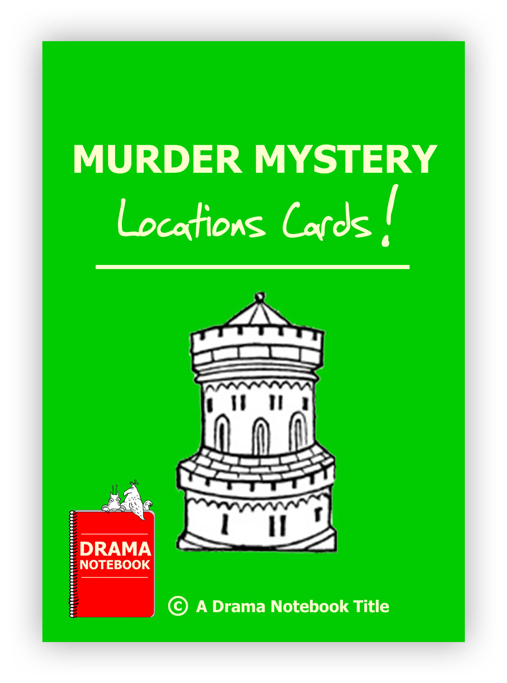 Murder Mystery Location Cards