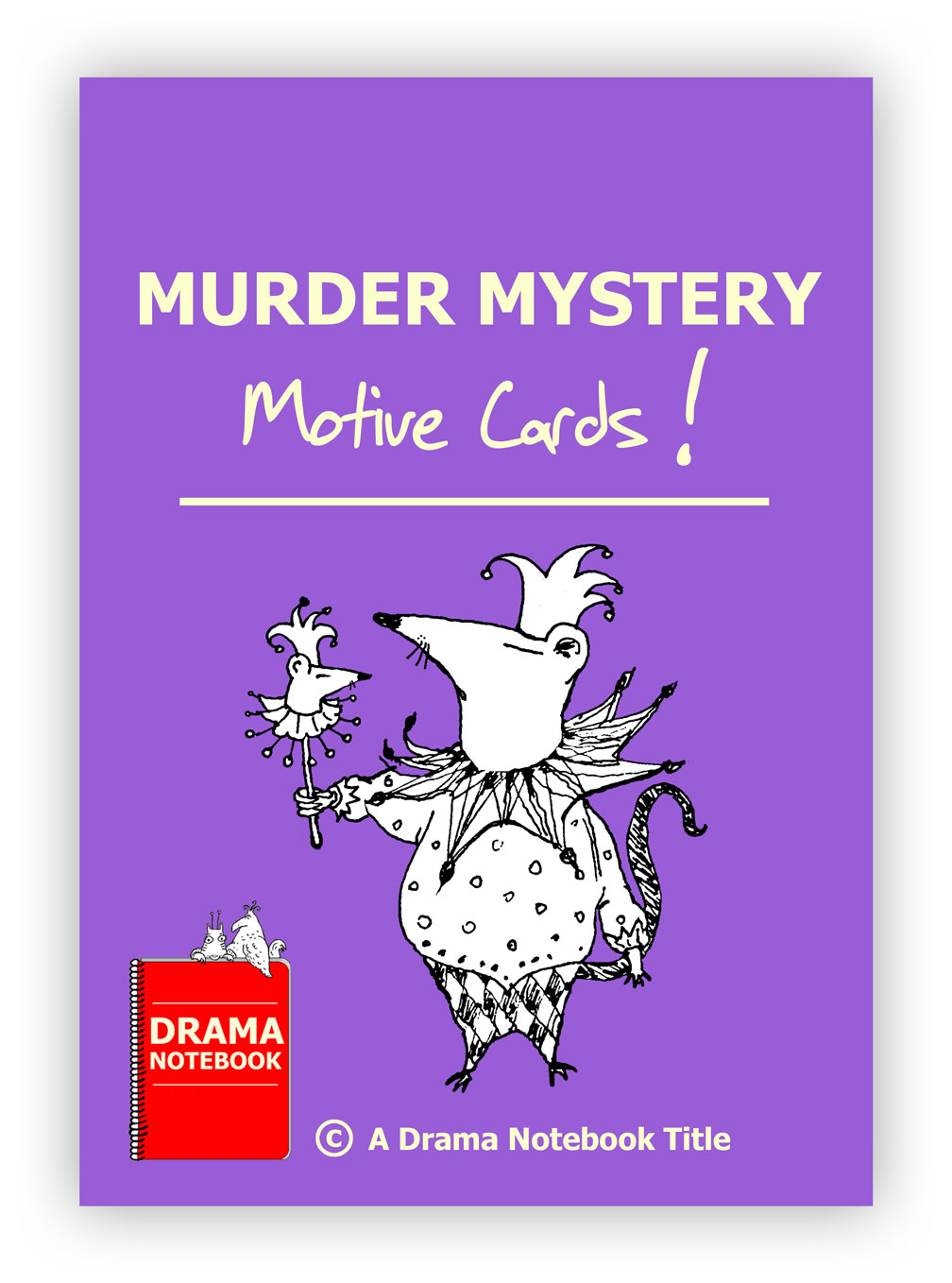Murder Mystery Motive Cards