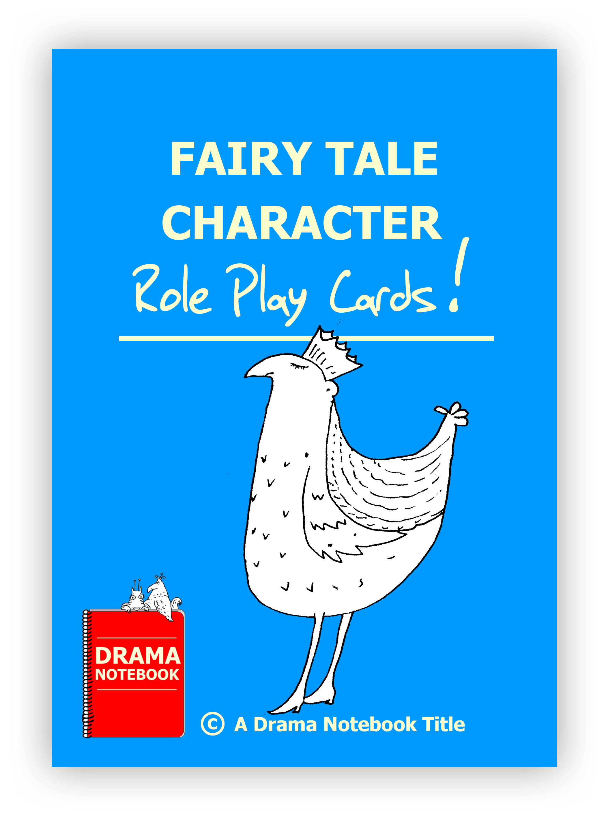 Fairy Tale Character Role Play Cards
