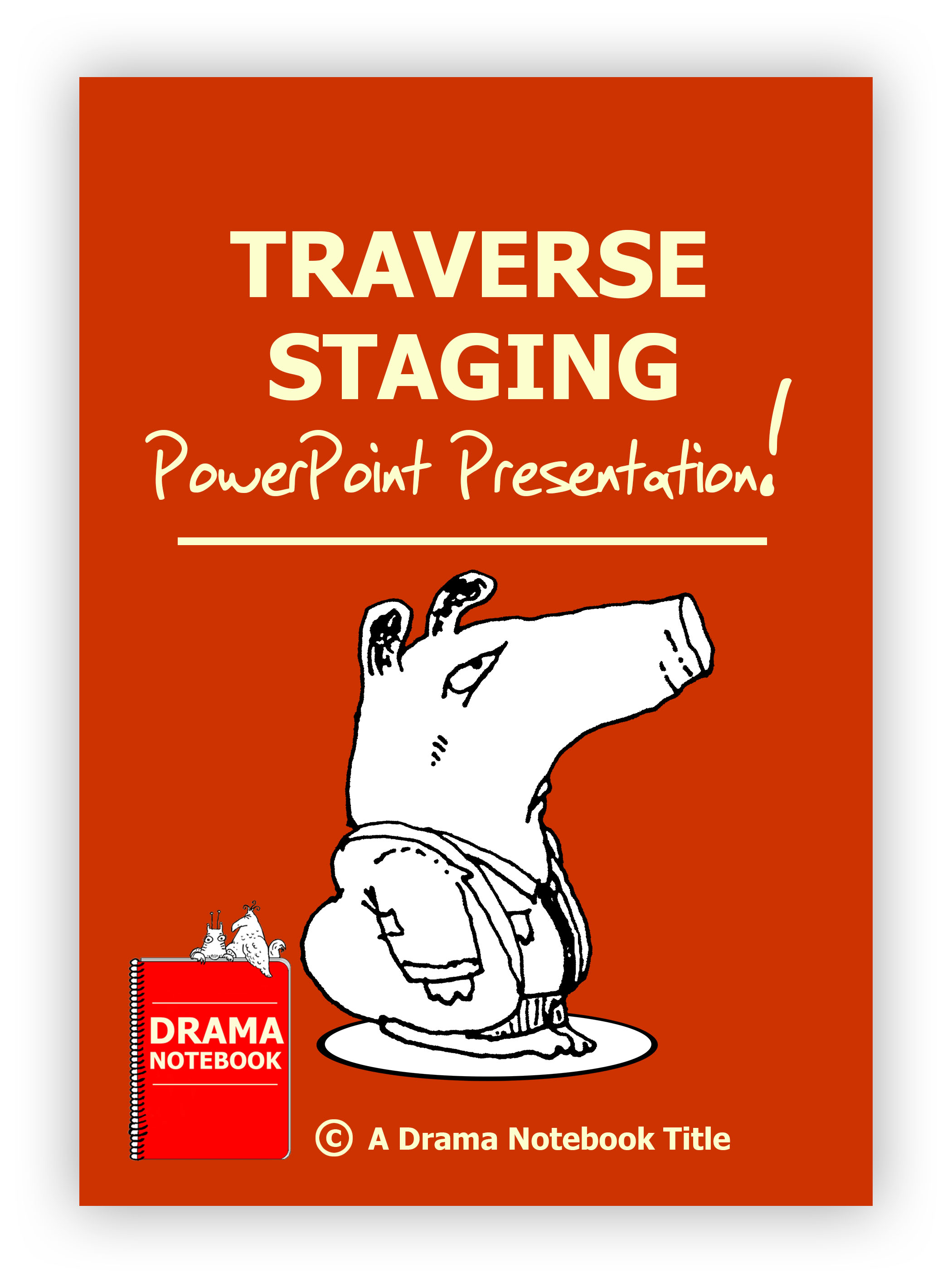 Traverse Staging PowerPoint Drama Lesson Plan for Schools