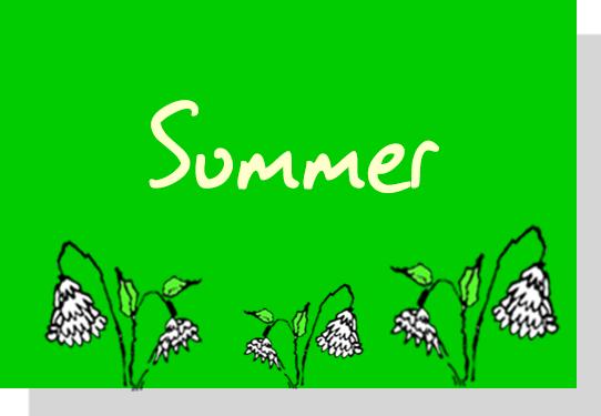 Seasonal Drama Activities for Schools - Summer