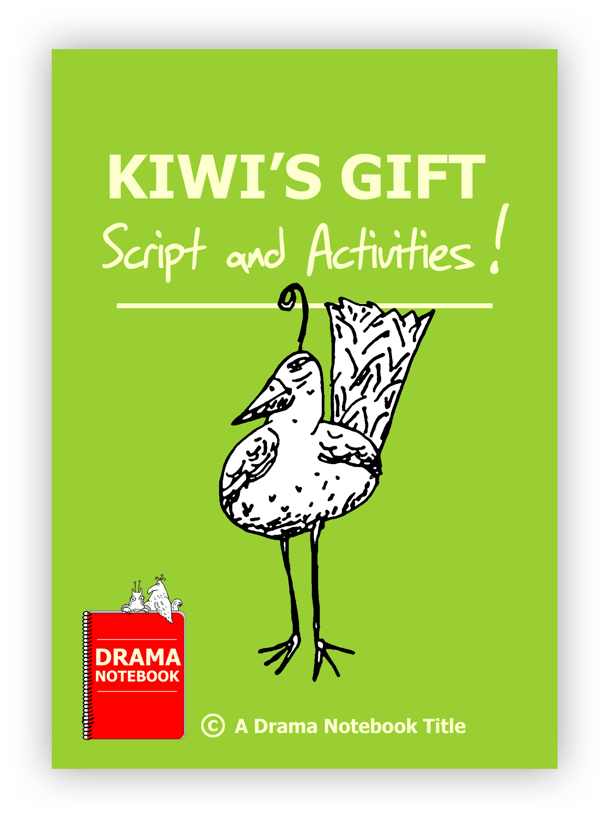 Kiwis Gift Script Royalty-free Play Script for Schools-