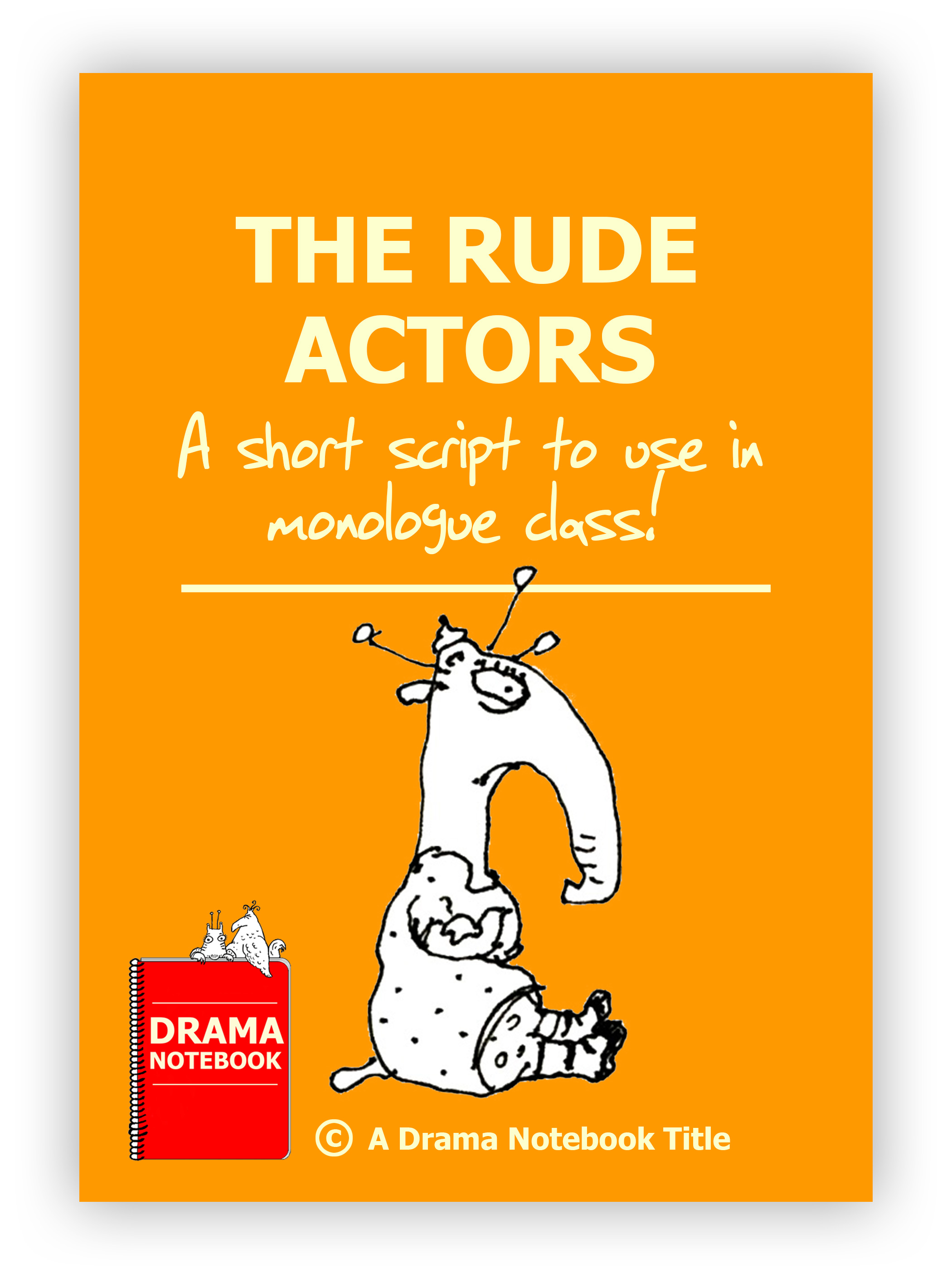 Royalty-free Play Script for Schools-The Rude Actors