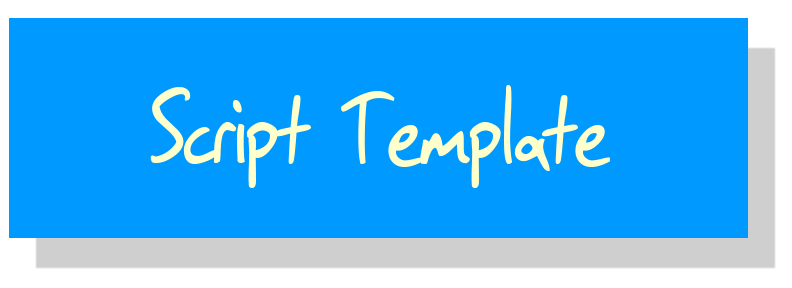 Play Submission Script Template