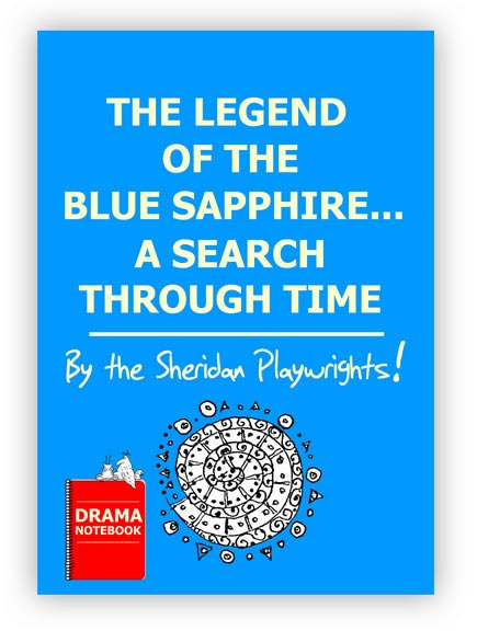 Royalty-free Play Script for Schools-Legend of the Blue Sapphire