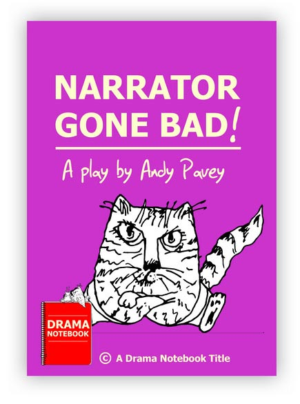 Royalty-free Play Script for Schools-Narrator Gone Bad