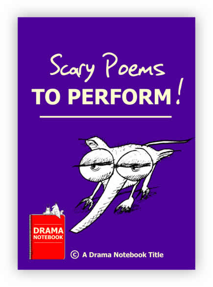 Scary Poems to Perform Royalty-free Play Script for Schools-