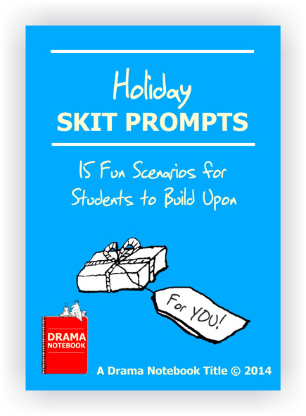 Holiday Skit Prompts Royalty-free Play Script for Schools-