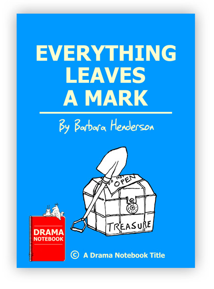Royalty-free Halloween Play Script for Schools-Everything Leaves a Mark