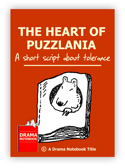 Royalty-free Play Script for Schools-The Heart of Puzzlania