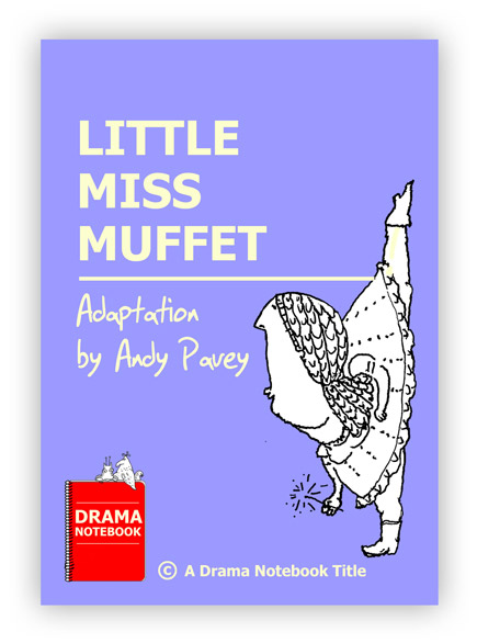Little Miss Muffet Royalty-free Play Script for Schools
