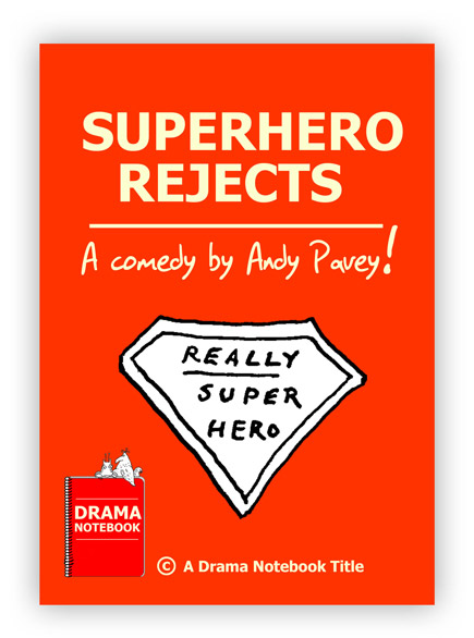 Royalty-free Play Script for Schools-Superhero Rejects