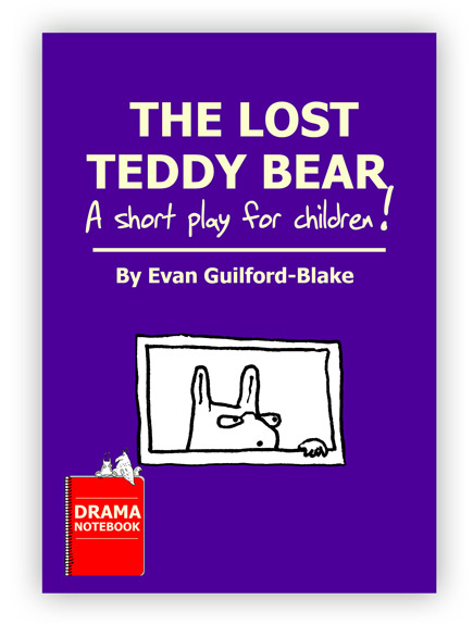 Royalty-free Puppet Play Script for Schools-The Lost Teddy Bear