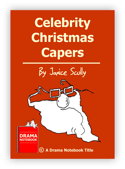 Royalty-free Christmas Play Script for Schools-Celebrity Christmas Capers