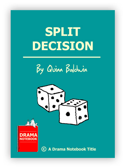 Royalty-free Play Script for Schools-Split Decision