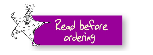 Read Before Ordering
