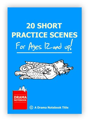 Book Cover for online drama teaching 20 Practice Scenes