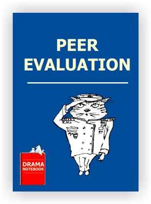 Peer Evaluation for Young Actors