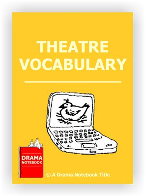 Book cover for Theatre Vocabulary during Social Distancing
