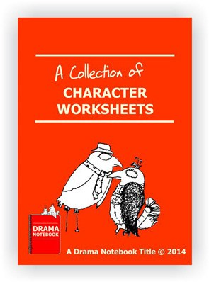 Book Cover for a Collection of Character Worksheets