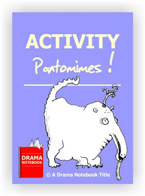 PDF for activity pantomimes that can be taught online