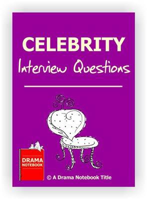 Drama Lesson Plan for Schools-Celebrity Interview Questions Drama Activity