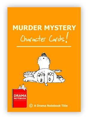 Drama Activity-Murder Mystery Character Cards