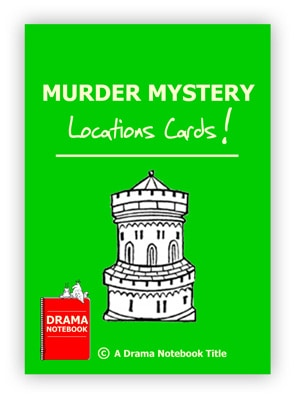 Drama Activity-Murder Mystery Location Cards