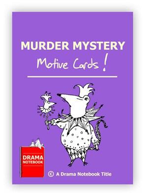 Drama Activity-Murder Mystery Motive Cards