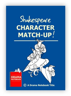 Drama Activity for Schools-Shakespeare Character Match-up