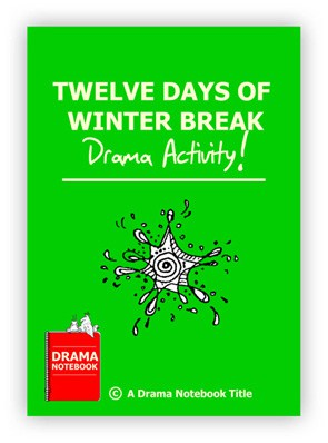 Twelve Days of Winter Break Royalty-free Chritmas Play Script for Schools-