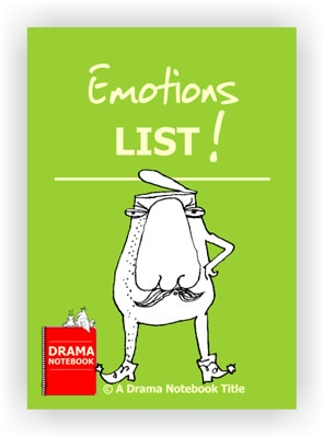 Drama Lesson Plan-Emotions List
