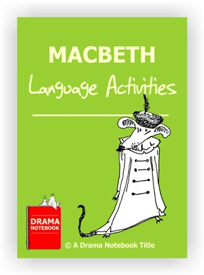 Macbeth Language Activities for Drama Class