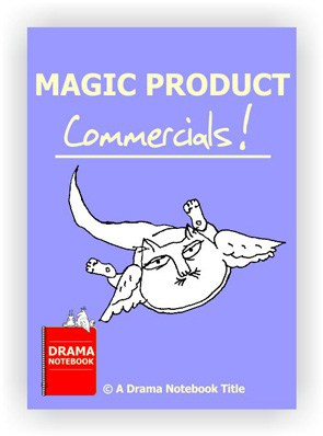 PDF cover for magic product commercials a perfect drama class to teach online