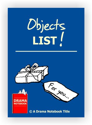 Drama Lesson Plan-Objects List
