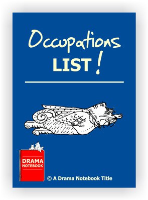 Drama Lesson Plan-Occupations List
