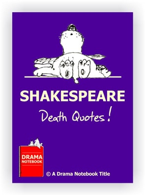 Shakespeare Drama Activity-Shakespeare Death Quotes