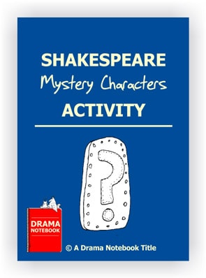 Shakespeare Drama Activity-Mystery Characters