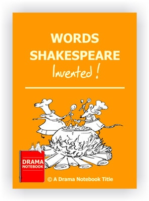 Words Shakespeare Invented-Shakespeare Drama Activity