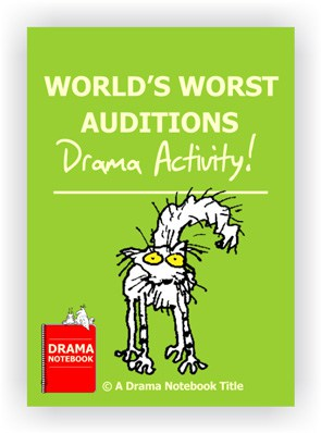 Book Cover for Online Drama Classes: World´s Worst Auditions Practice